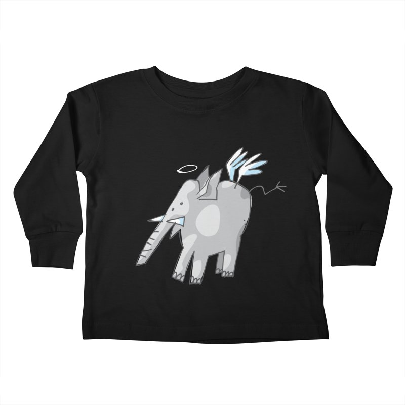 AngelPhant Kids Toddler Longsleeve T-Shirt by Freehand