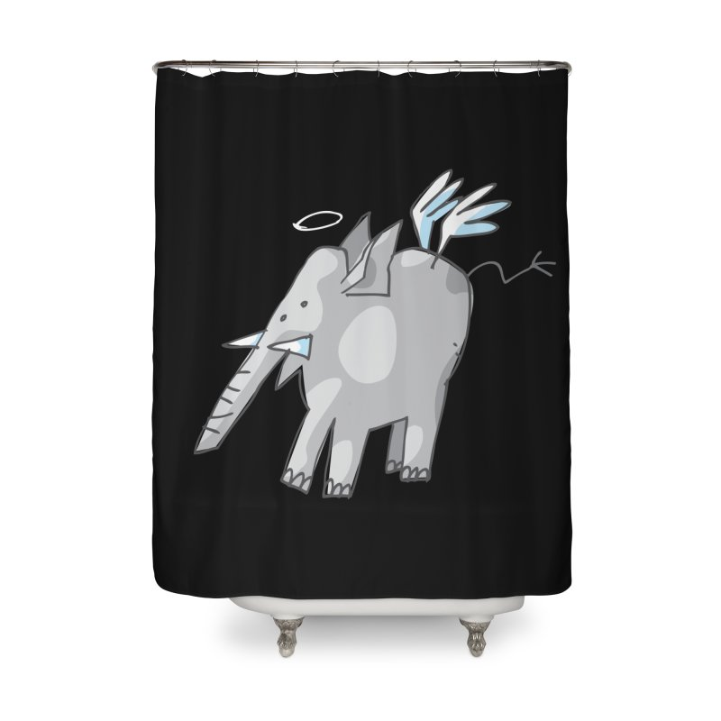 AngelPhant Home Shower Curtain by Freehand