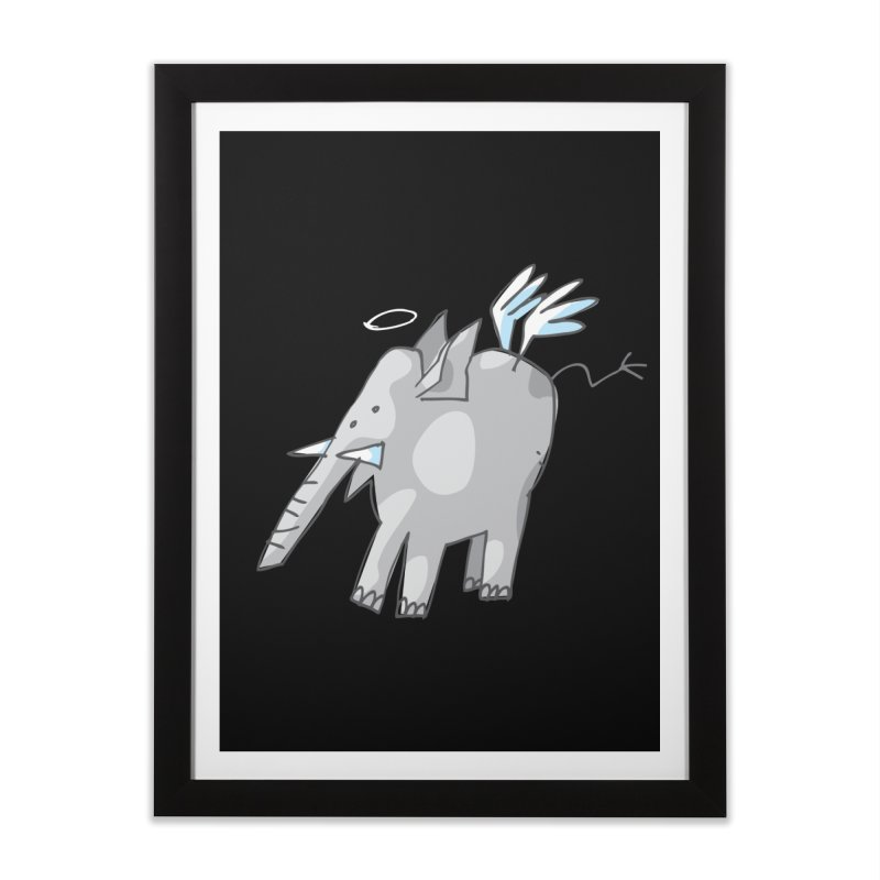 AngelPhant Home Framed Fine Art Print by Freehand