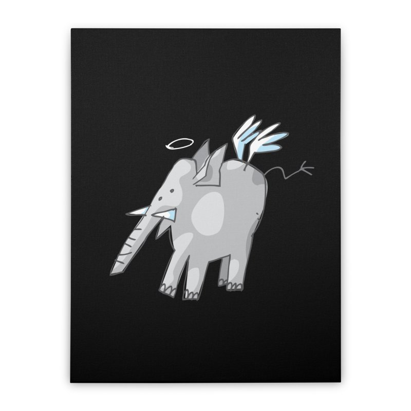 AngelPhant Home Stretched Canvas by Freehand