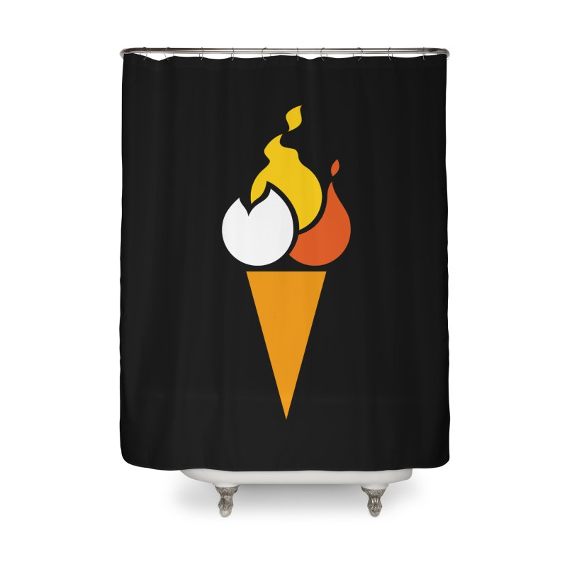 Spicecream Home Shower Curtain by Freehand