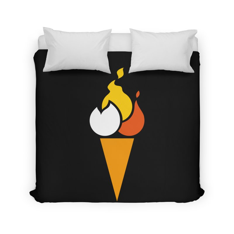 Spicecream Home Duvet by Freehand