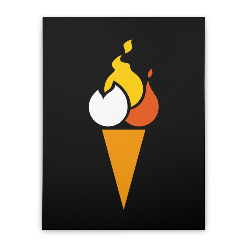 Spicecream Home Stretched Canvas by Freehand