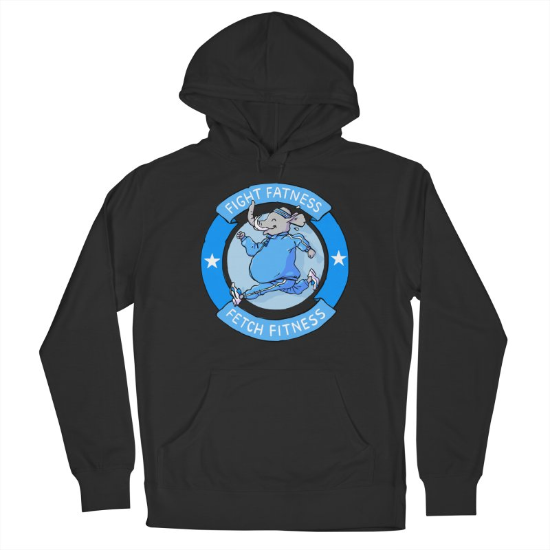 Fight Fatness Men's Pullover Hoody by Freehand