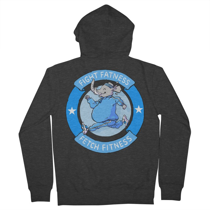 Fight Fatness Men's Zip-Up Hoody by Freehand