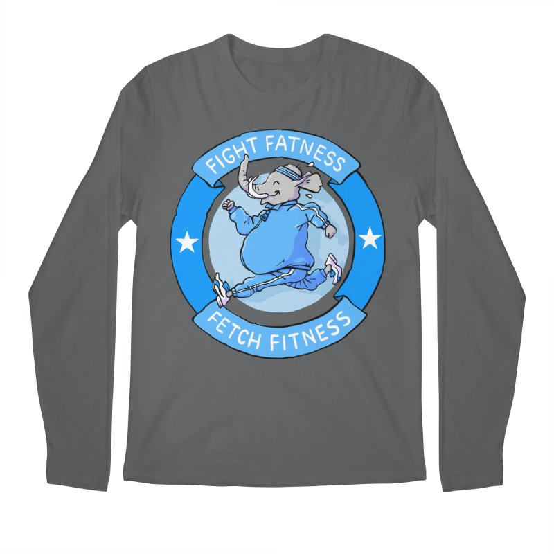 Fight Fatness Men's Longsleeve T-Shirt by Freehand