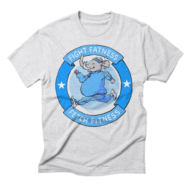 Fight Fatness Men's Triblend T-Shirt by Freehand