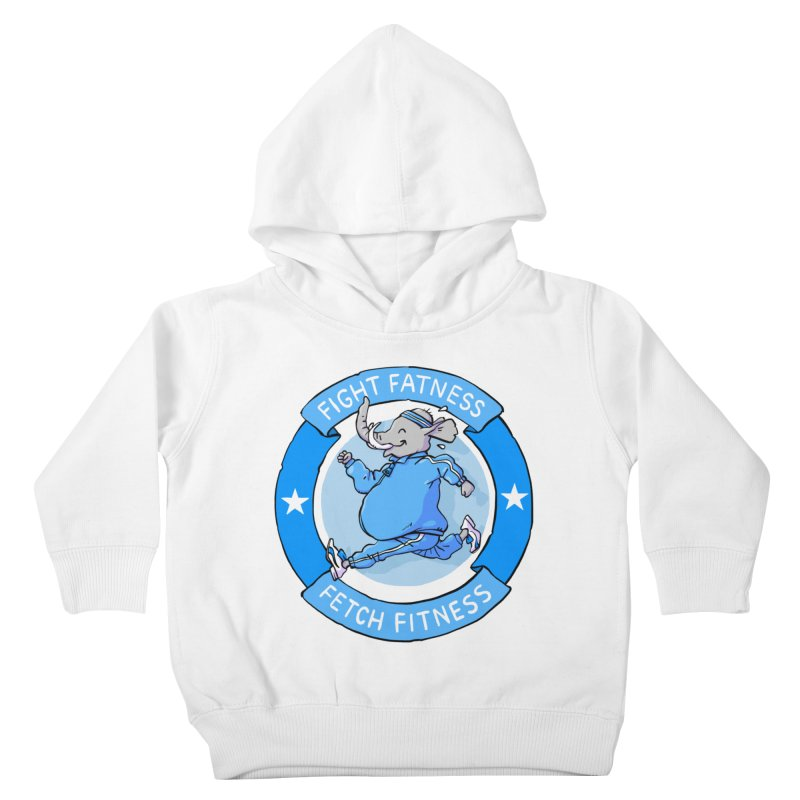 Fight Fatness Kids Toddler Pullover Hoody by Freehand