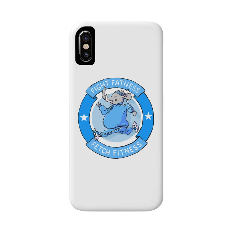 Fight Fatness Accessories Phone Case by Freehand