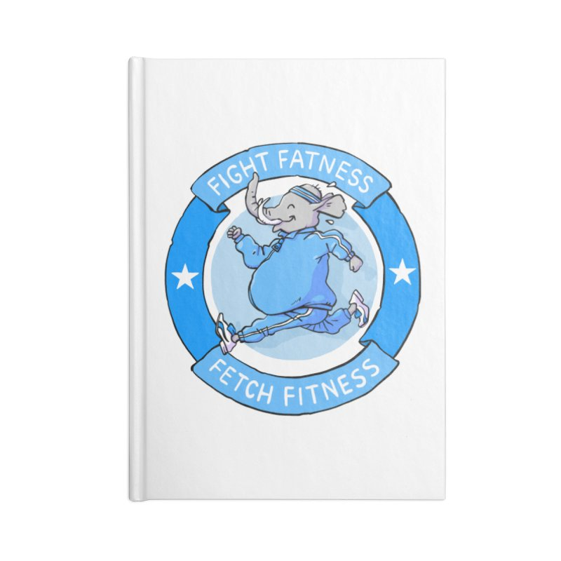Fight Fatness Accessories Notebook by Freehand
