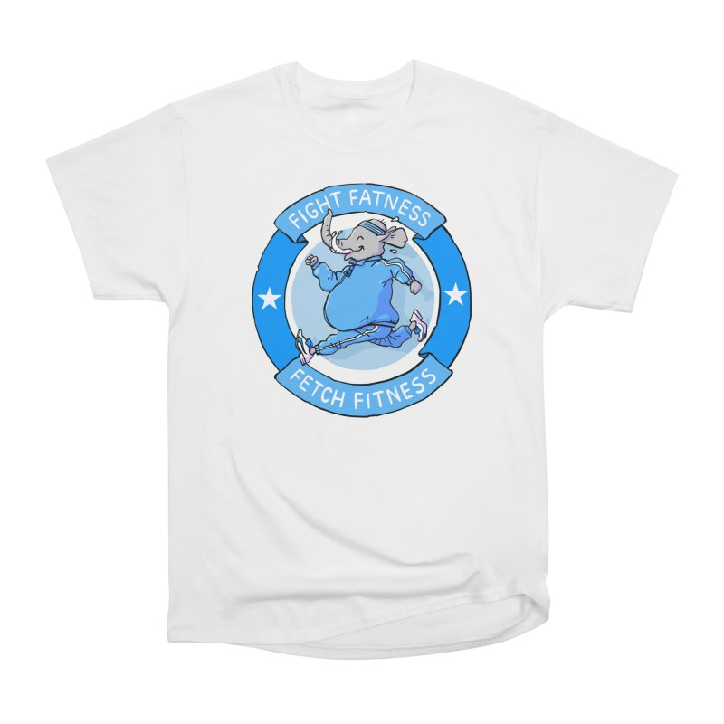 Fight Fatness Men's T-Shirt by Freehand