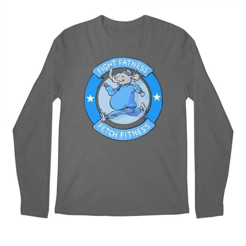 Fight Fatness Men's Longsleeve T-Shirt by Freehand