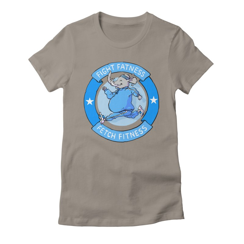 Fight Fatness Women's T-Shirt by Freehand