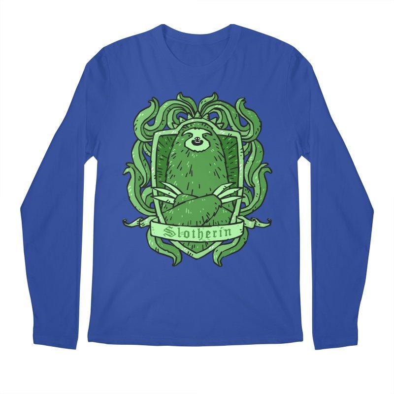Slotherin Men's Regular Longsleeve T-Shirt by Freehand