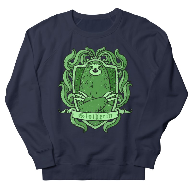 Slotherin Men's French Terry Sweatshirt by Freehand