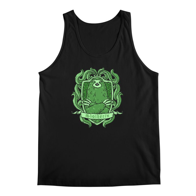 Slotherin Men's Tank by Freehand