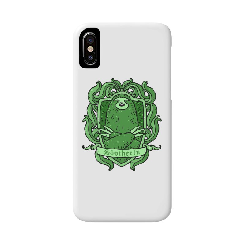 Slotherin Accessories Phone Case by Freehand