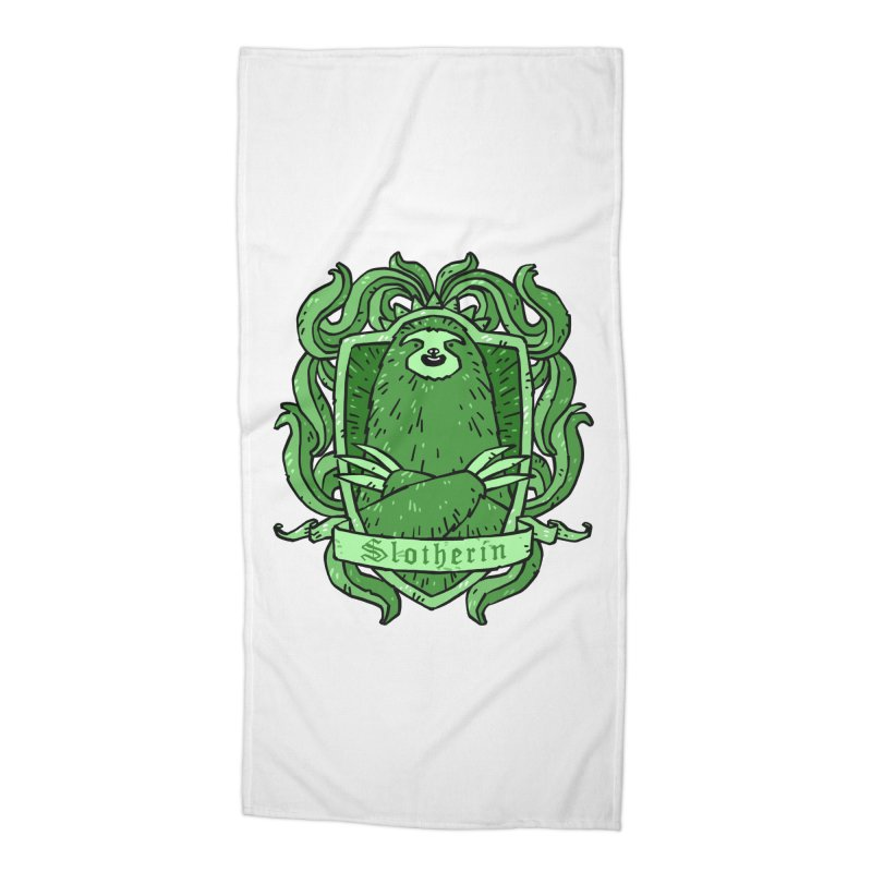 Slotherin Accessories Beach Towel by Freehand