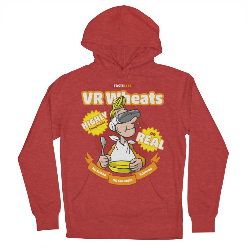 VR Wheats Men's French Terry Pullover Hoody by Freehand