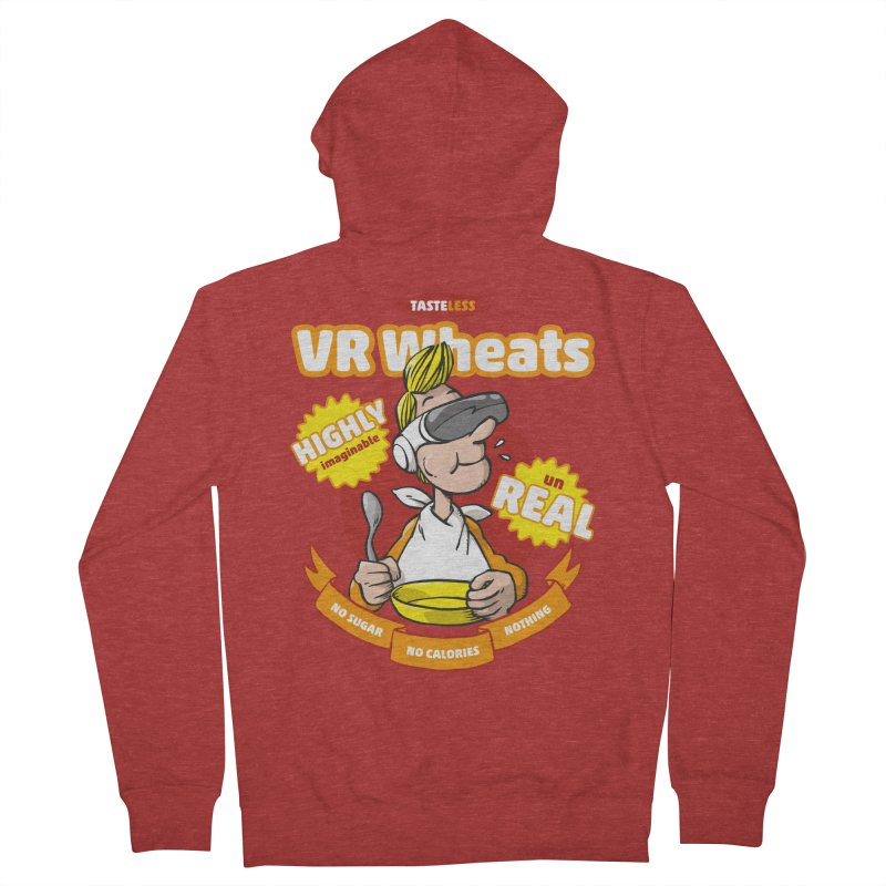 VR Wheats Men's Zip-Up Hoody by Freehand