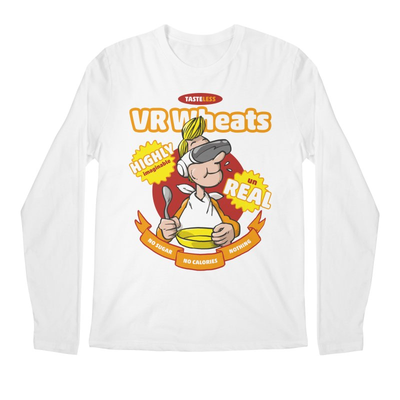 VR Wheats Men's Longsleeve T-Shirt by Freehand