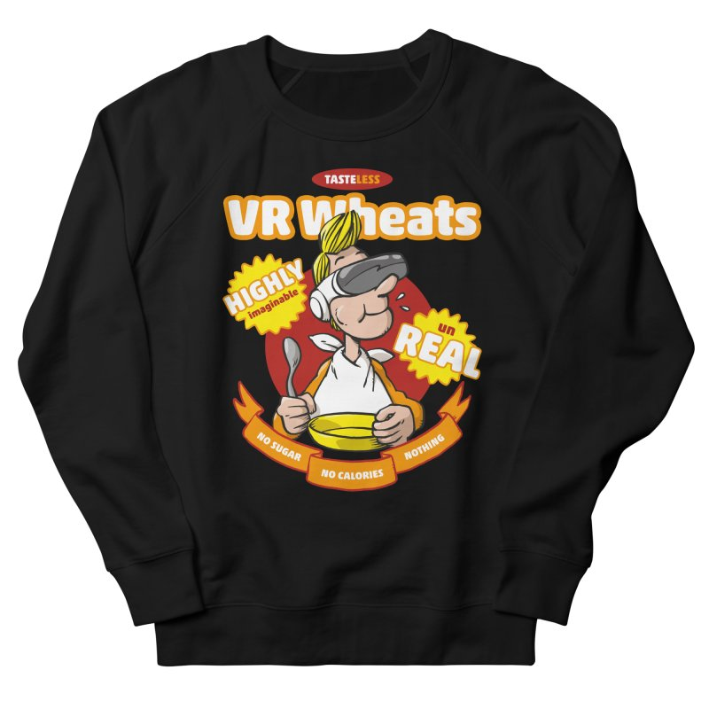 VR Wheats Women's French Terry Sweatshirt by Freehand