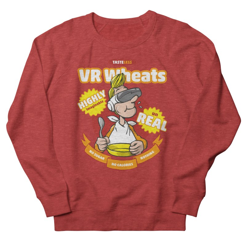 VR Wheats Men's French Terry Sweatshirt by Freehand