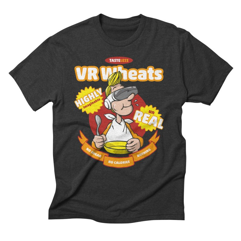VR Wheats Men's Triblend T-Shirt by Freehand