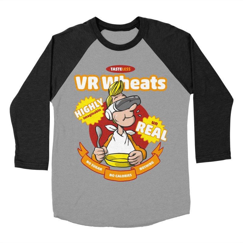 VR Wheats Men's Baseball Triblend T-Shirt by Freehand