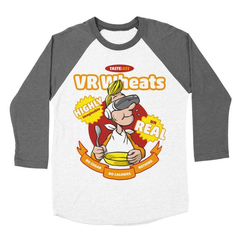 VR Wheats Men's Baseball Triblend Longsleeve T-Shirt by Freehand