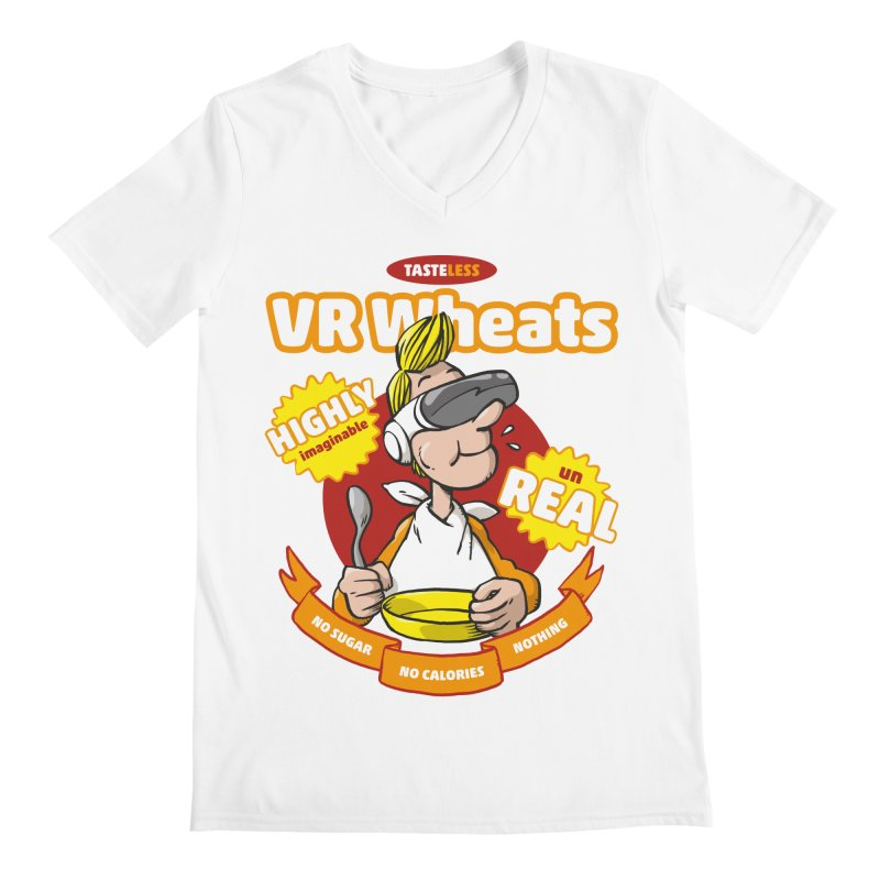 VR Wheats Men's V-Neck by Freehand