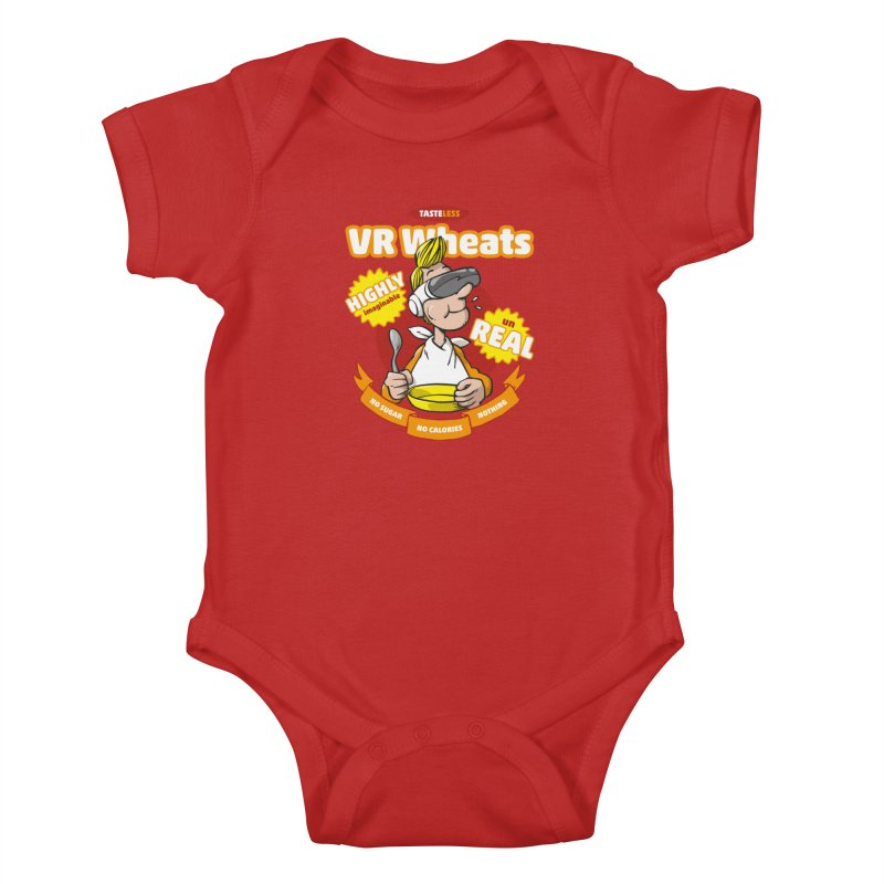 VR Wheats Kids Baby Bodysuit by Freehand
