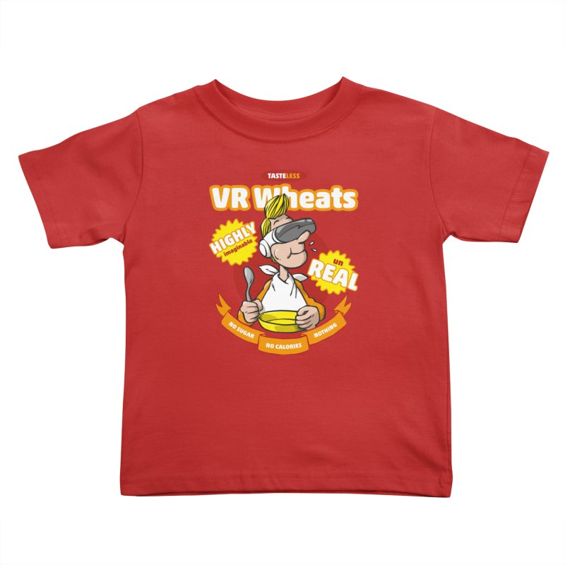VR Wheats Kids Toddler T-Shirt by Freehand