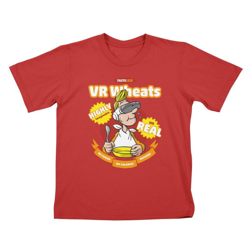 VR Wheats Kids T-Shirt by Freehand
