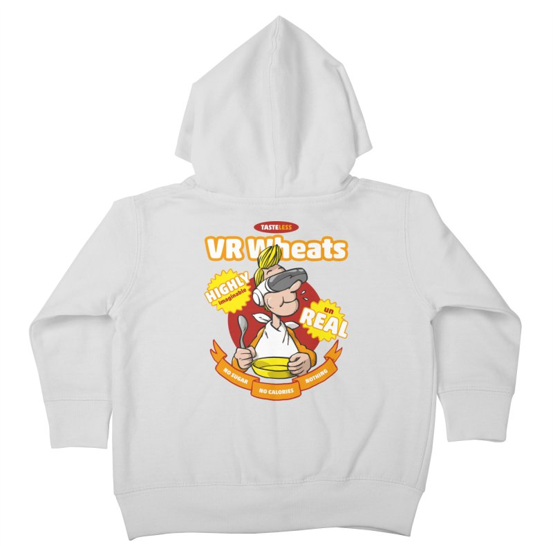 VR Wheats Kids Toddler Zip-Up Hoody by Freehand