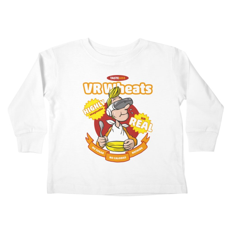 VR Wheats Kids Toddler Longsleeve T-Shirt by Freehand