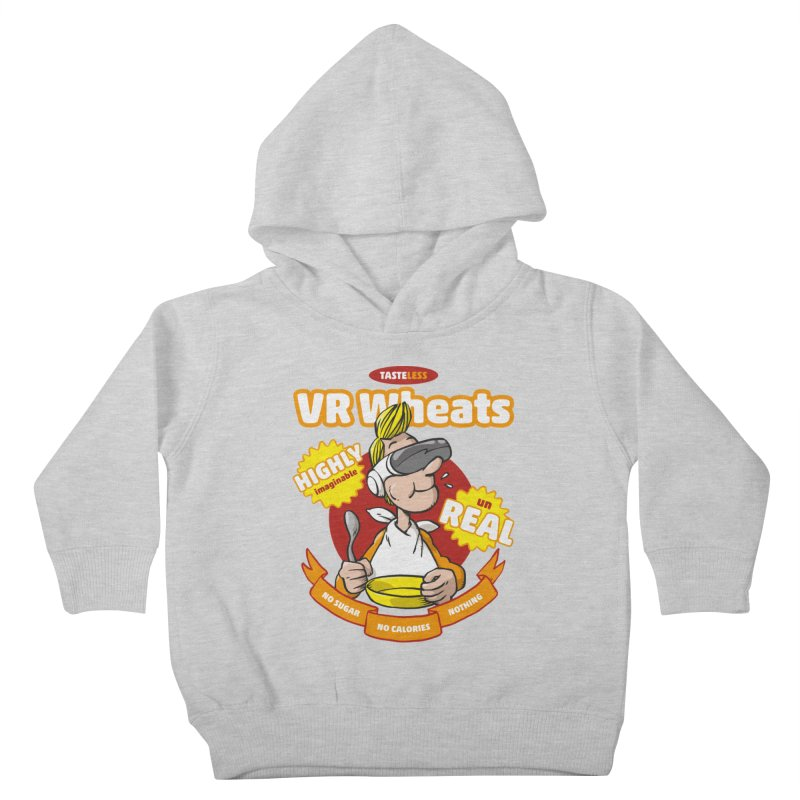 VR Wheats Kids Toddler Pullover Hoody by Freehand