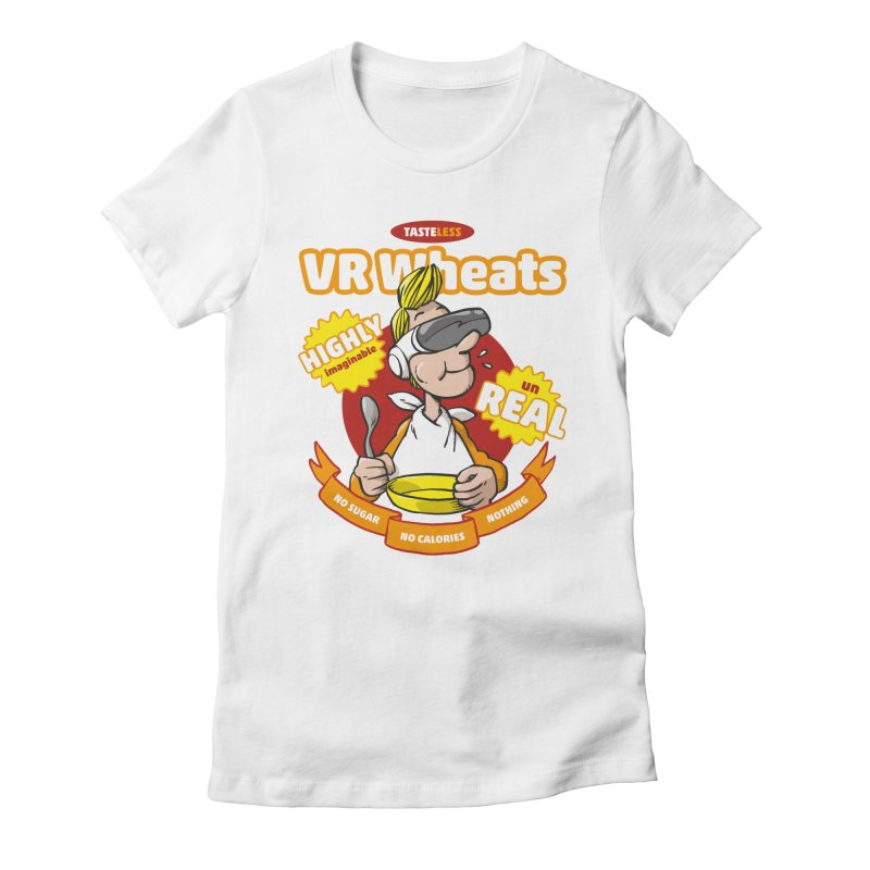 VR Wheats Women's Fitted T-Shirt by Freehand