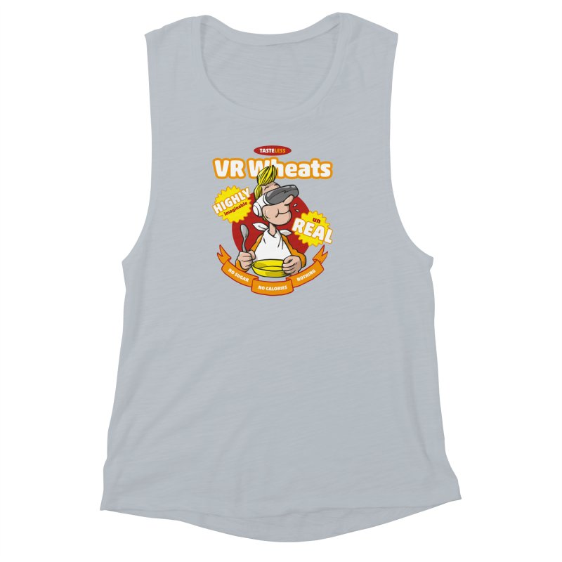 VR Wheats Women's Muscle Tank by Freehand