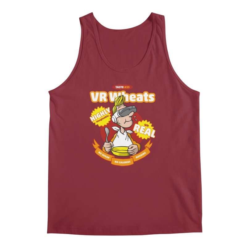 VR Wheats Men's Tank by Freehand