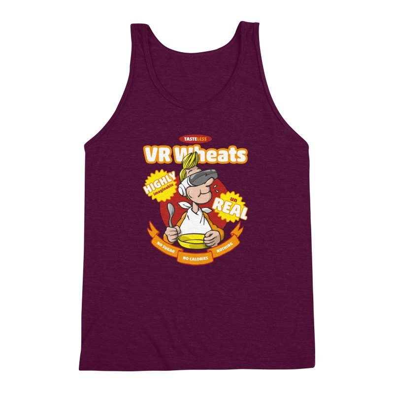 VR Wheats Men's Triblend Tank by Freehand