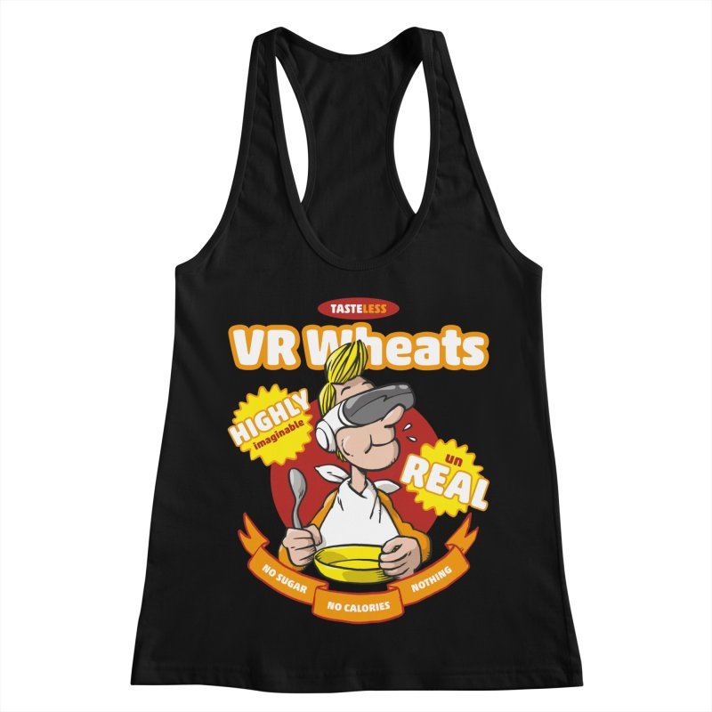 VR Wheats Women's Racerback Tank by Freehand