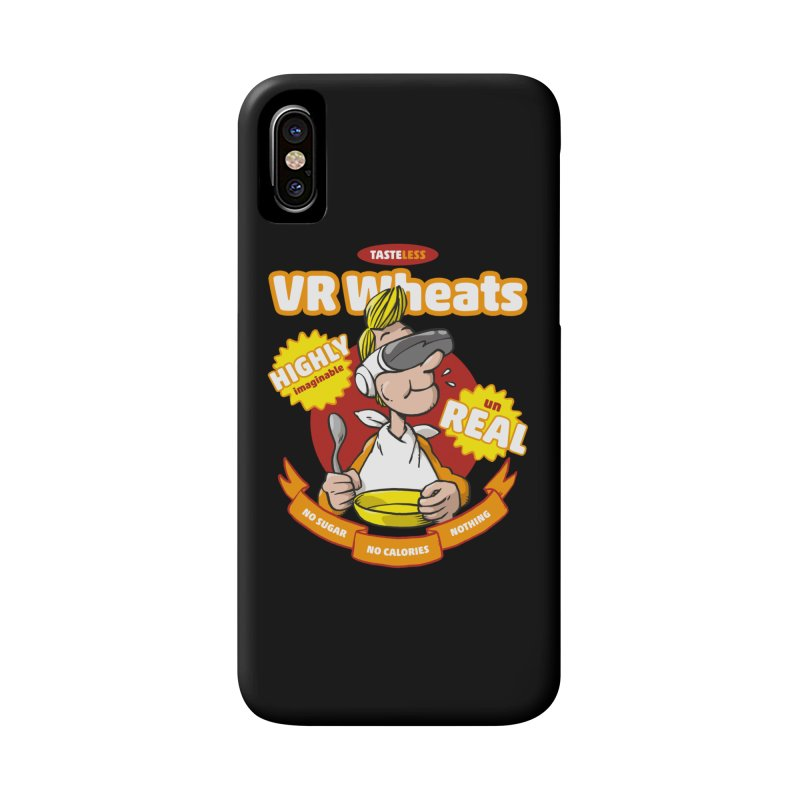 VR Wheats Accessories Phone Case by Freehand