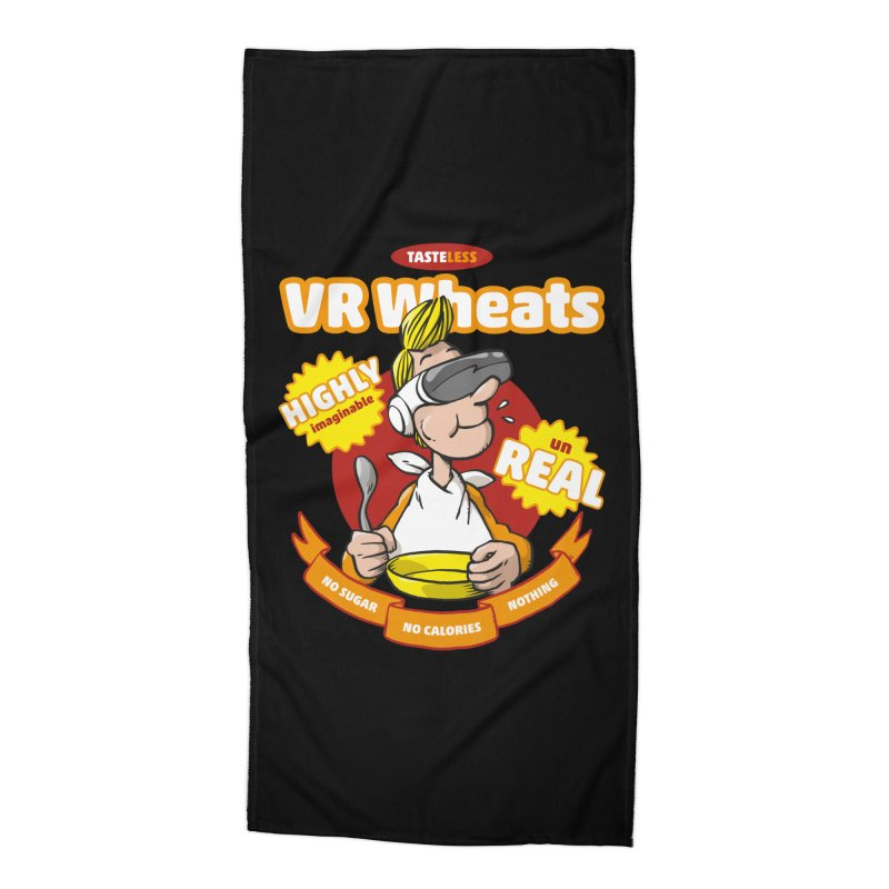 VR Wheats Accessories Beach Towel by Freehand