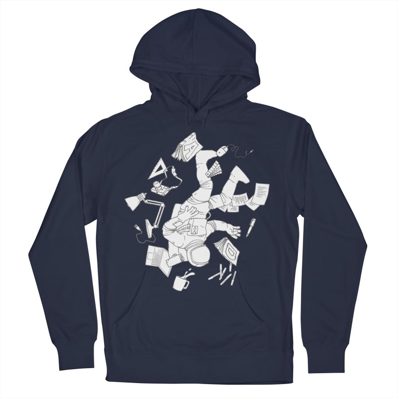 Space Studies Men's French Terry Pullover Hoody by Freehand