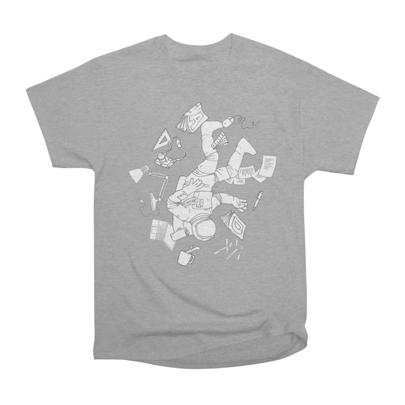 Space Studies Men's Heavyweight T-Shirt by Freehand