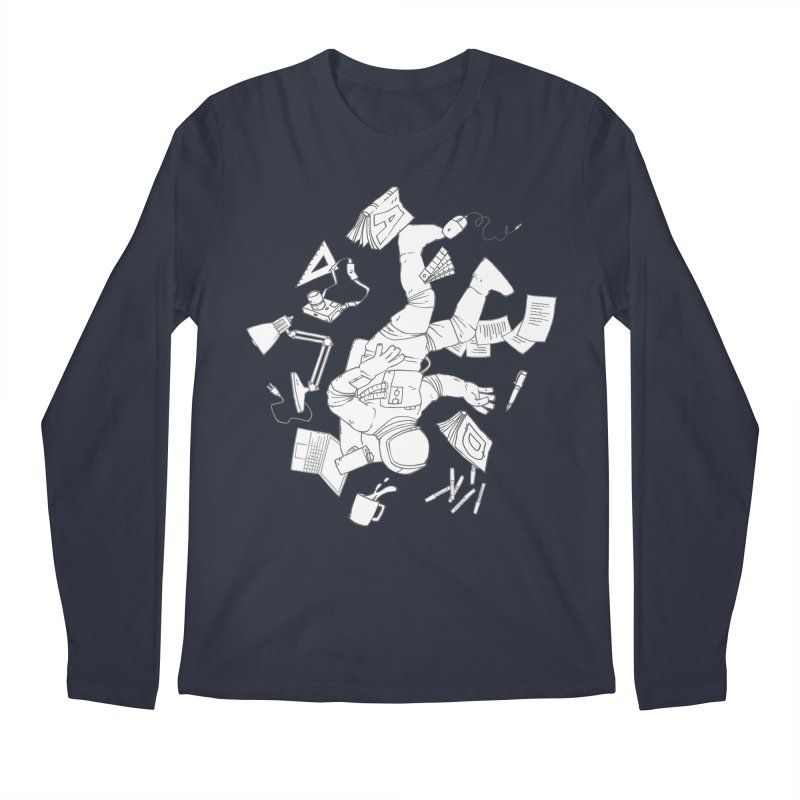 Space Studies Men's Longsleeve T-Shirt by Freehand