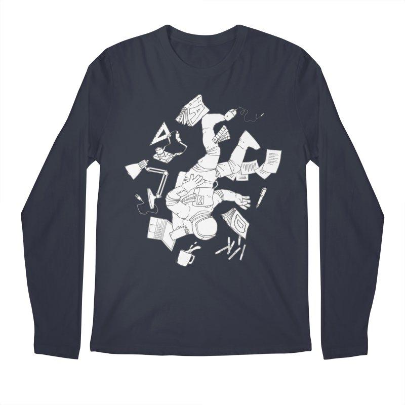 Space Studies Men's Regular Longsleeve T-Shirt by Freehand