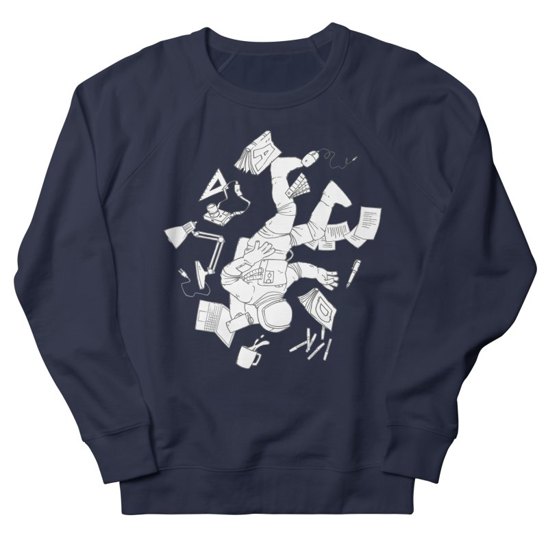 Space Studies Men's French Terry Sweatshirt by Freehand