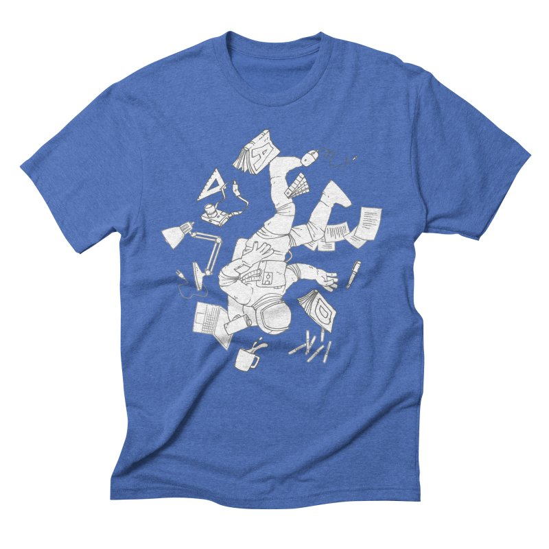 Space Studies Men's Triblend T-Shirt by Freehand